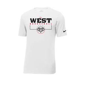 West Basketball Nike Core Cotton Tee