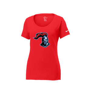 Kings Youth Football - Nike Ladies Core Cotton Scoop Neck Tee