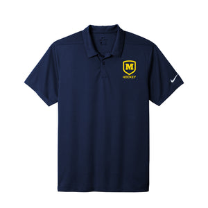 Moeller Hockey - Nike Dry Essential Solid Polo (Midnight Navy)