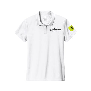 Headlines Lacrosse - Impact Lax Nike Ladies Dry Essential Solid Polo (White)