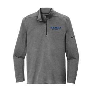 Kemba Realty - Nike Dry 1/2-Zip Cover-Up (Black Heather)