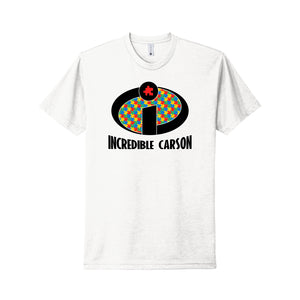 Incredible Carson 2021 - Next Level CVC Tee (White)