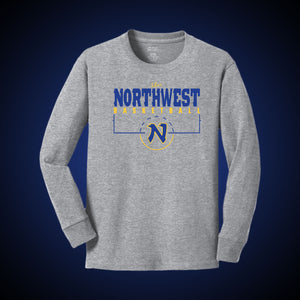Northwest Basketball Court LS Tee