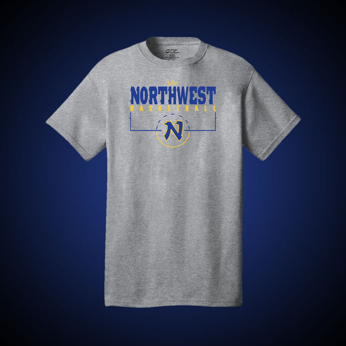 Northwest Basketball Court Tee (Grey)