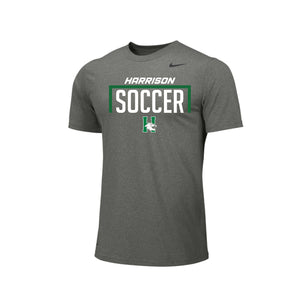 Harrison Boys Soccer - Nike Team Legend Tee (Carbon Heather)
