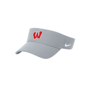 Lakota West XC - Nike Dry Visor (BLUE GREY/WHITE)