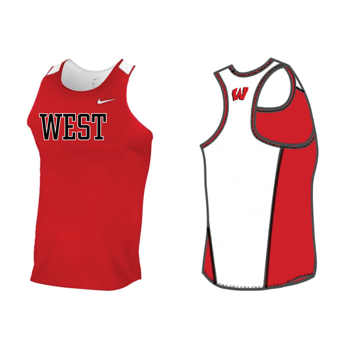 Lakota West XC - MEN'S NIKE STOCK BREATHE RACE DAY SINGLET