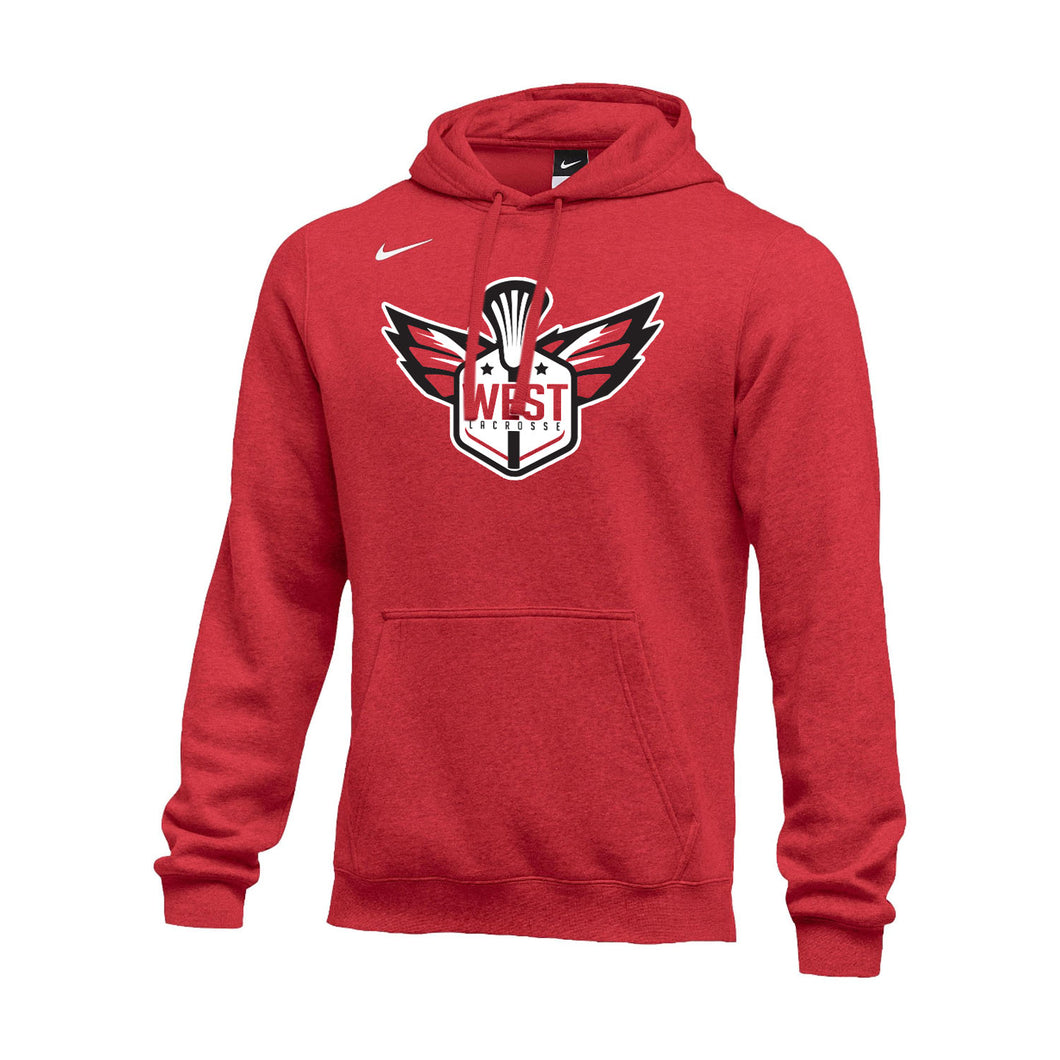 West Lacrosse Nike Club Fleece Hoodie