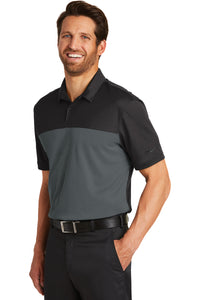 Badin B Basketball Nike Colorblock Polo