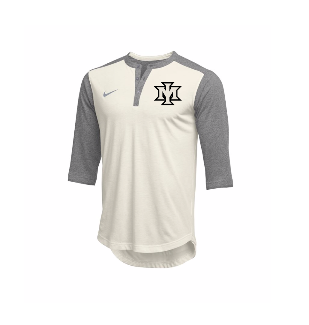 Ironmen Coaches Nike Henley Flux (White)