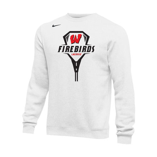 West Lacrosse Nike Club Fleece Crew