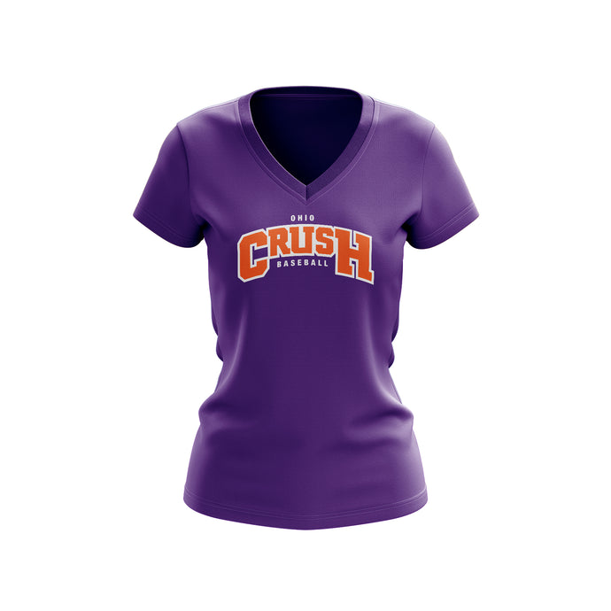 Ohio Crush Ladies V-Neck Tee