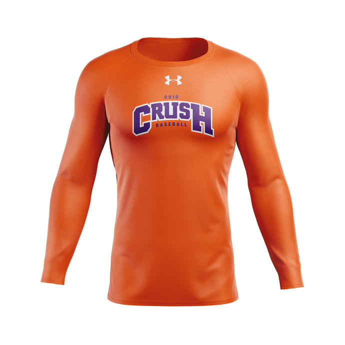 Ohio Crush UA HeatGear® Armour Long Sleeve Compression Shirt
