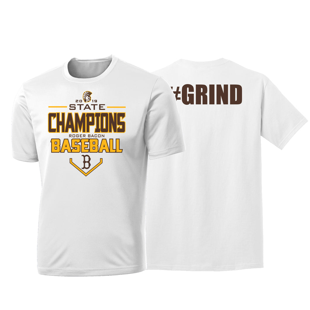 Roger Bacon State Champs - Dri Fit Tee