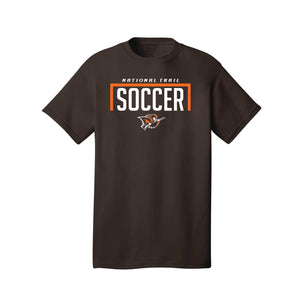 National Trail Soccer Tee (Dark Chocolate Brown)