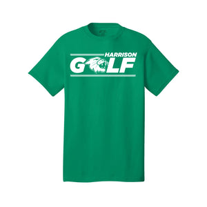 Harrison Golf - Port & Company® Core Cotton Tee - Green