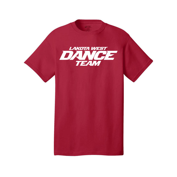 LW Dance SS Core Cotton Tee (Red)