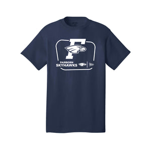 Fairborn Athletics PC54 Core Cotton Tee (Navy)
