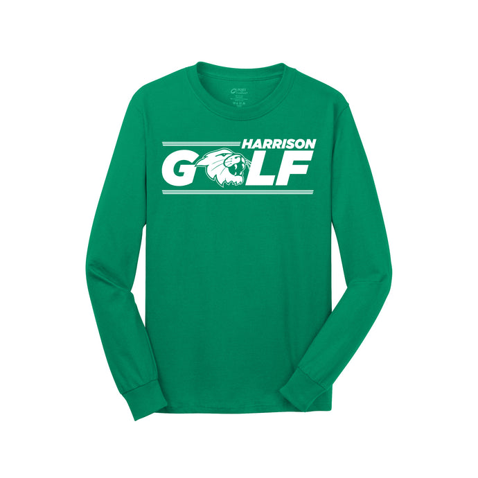 Harrison Golf LS Tee - Green