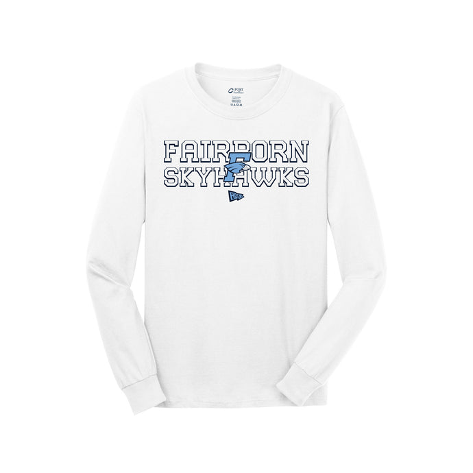 Fairborn Athletics - Long Sleeve Tee (White)