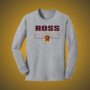 Ross Basketball Court LS Tee