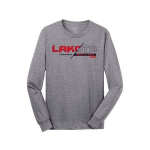 Lakota West Track LS Tee (Athletic Heather)