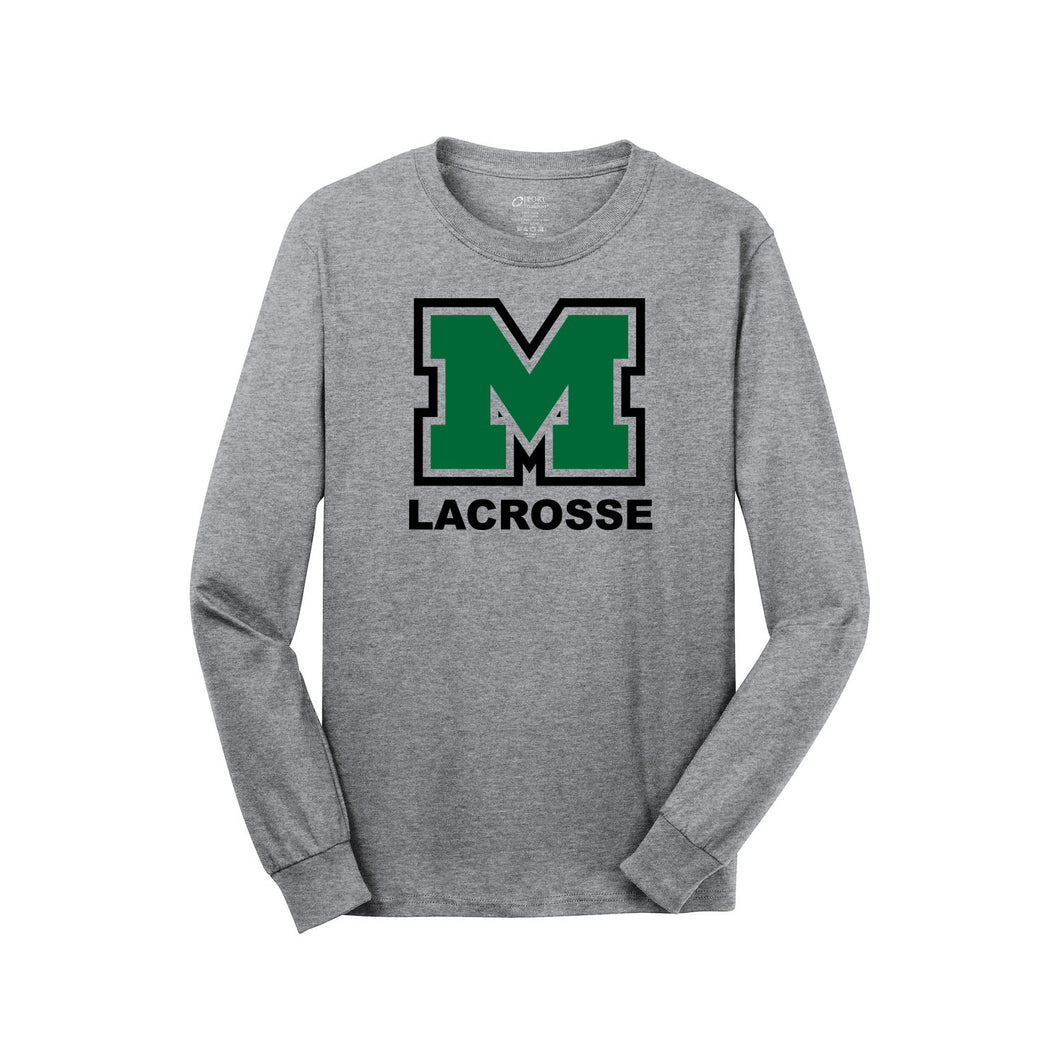 Mason Lacrosse LS Tee (Athletic Heather)
