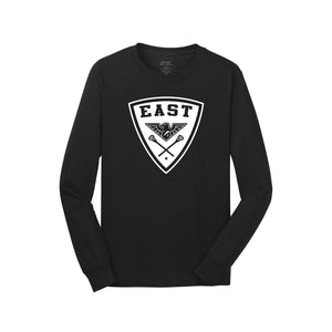 Lakota East MS Lax LS Tee (black)