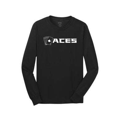 Aces Softball - Long Sleeve Tee (Black)