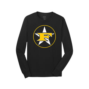 5 Star Baseball - Five Star Long Sleeve Tee (Black)