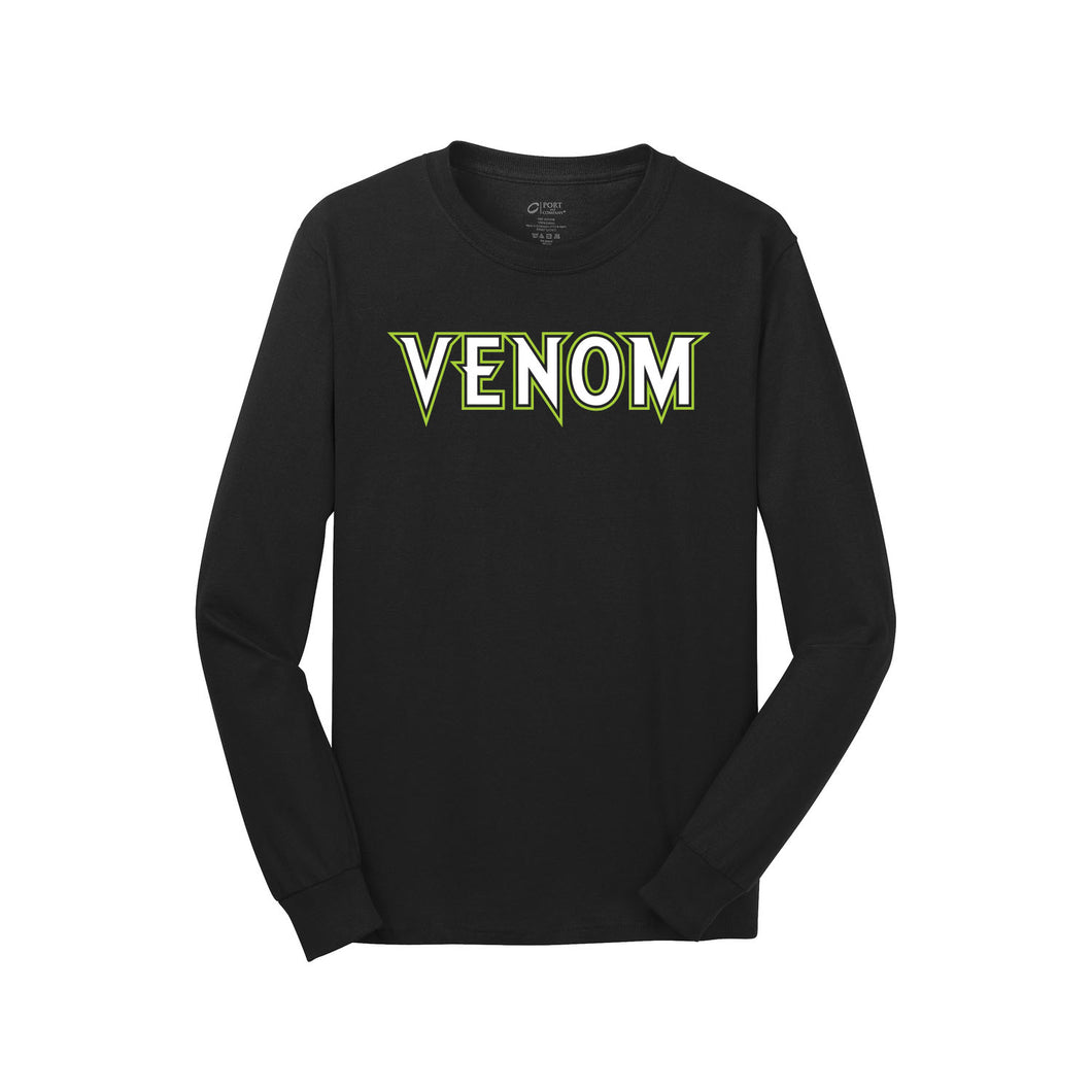 Tipp City Venom LS Tee (Black)