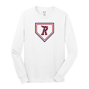 Cincinnati Riverbats - HOME PLATE Core Cotton LS Tee