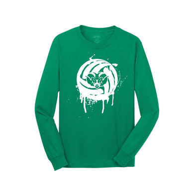 Badin Boys Volleyball LS Tee (Green)