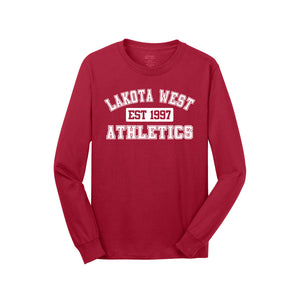 Lakota West Athletics LS Tee (Red)
