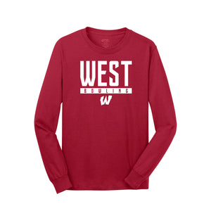 West Bowling - Core Cotton LS Tee (Red)