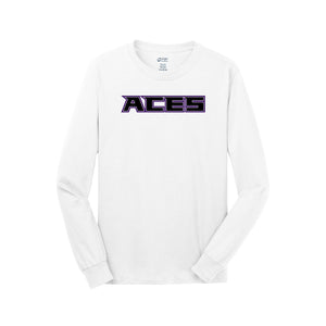 Aces Softball - Long Sleeve Tee (White)