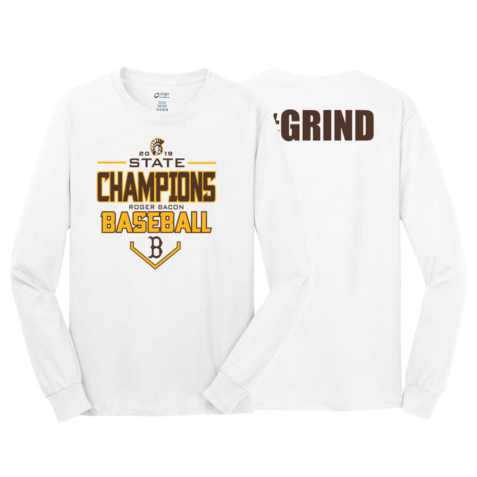 Roger Bacon State Champs - Long Sleeve Tee