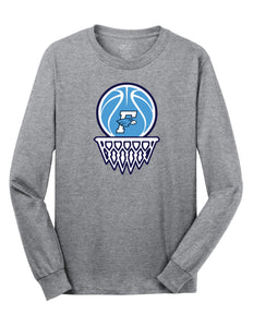 Fairborn Basketball - LS Tee (Athletic Heather)