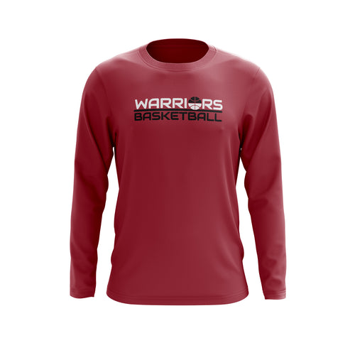 Fairfield Warriors Long Sleeve Tee (NAME & NUMBER ON BACK)
