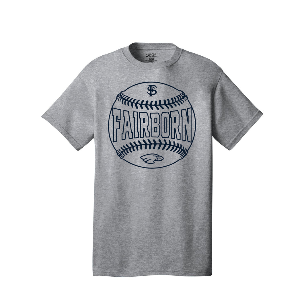 Fairborn Baseball - Core Cotton Tee (Athletic Heather)