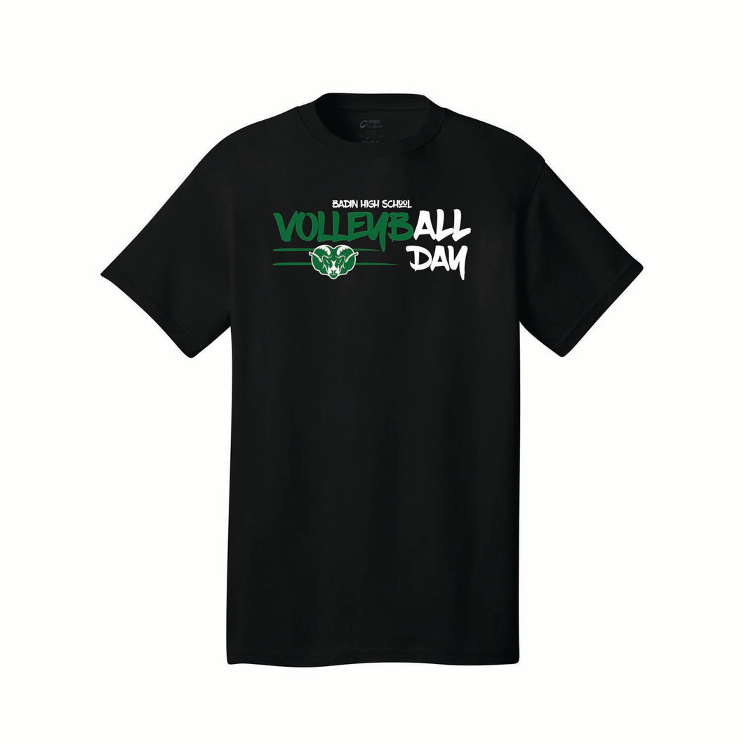 Badin Boys Volleyball Tee (Black)