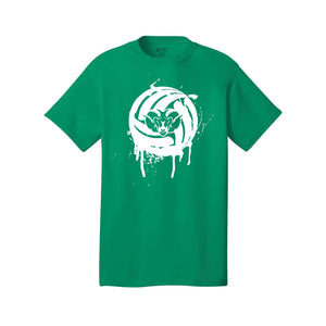 Badin Boys Volleyball Tee (Green)