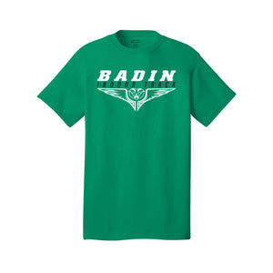 Badin Indoor Track - Core Cotton Tee (Kelly)