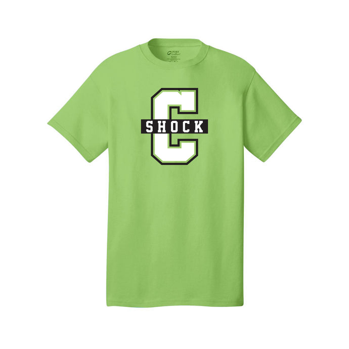Cincy Shock Softball Tee (Lime)