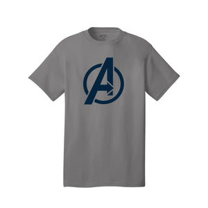 Avengers Baseball Tee (Medium Grey)