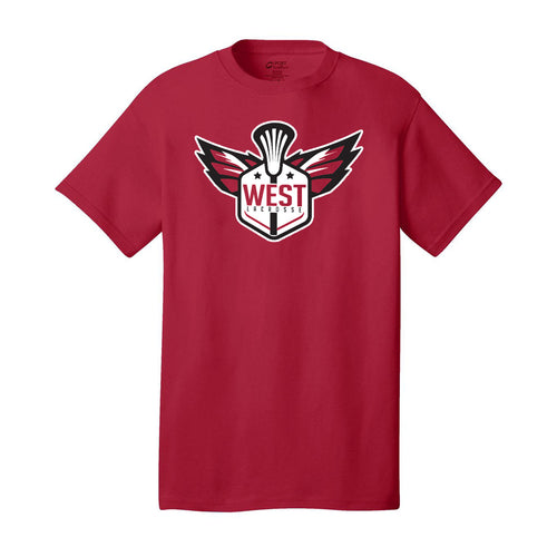 West Lacrosse SS Tee (Red)