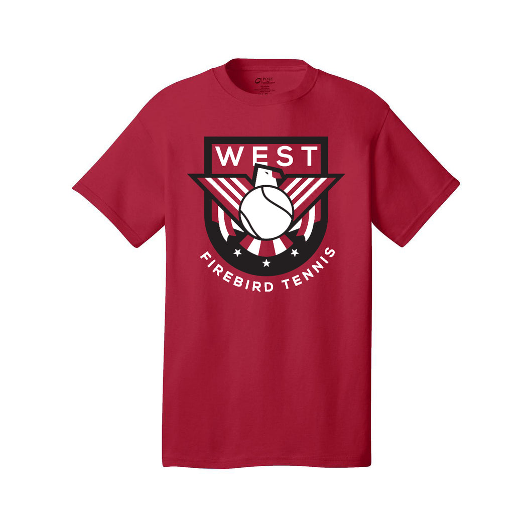 Lakota West Boys Tennis Tee (Red)