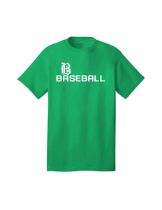 Badin Baseball - Script Tee (Kelly Green)
