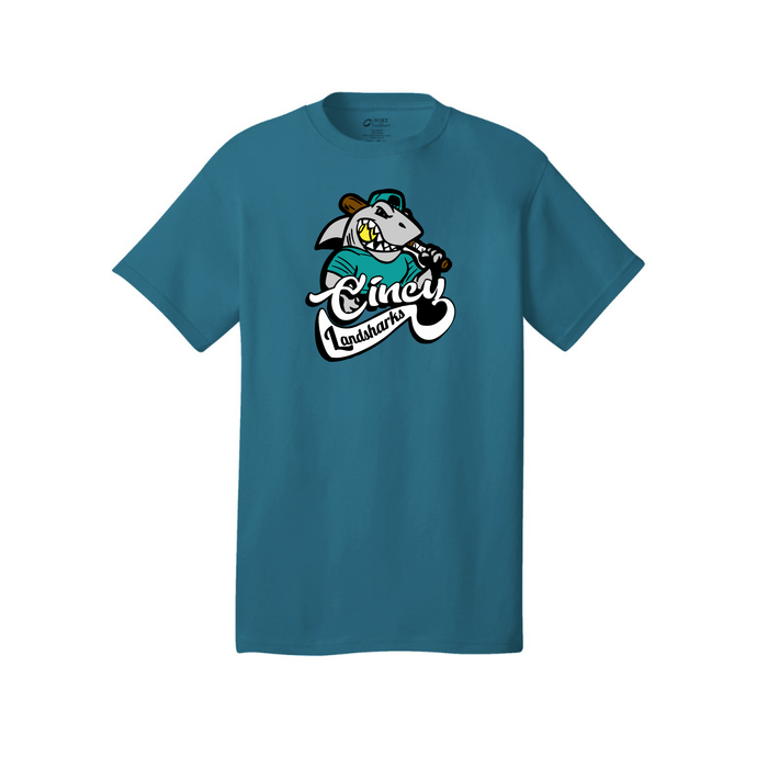 Cincy Landsharks - Core Cotton Tee (4 Colors)