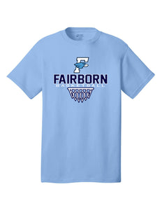 Fairborn Basketball - Crew Tee (Carolina Blue)